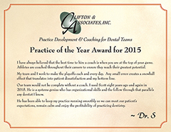 Practice of the Year 2015